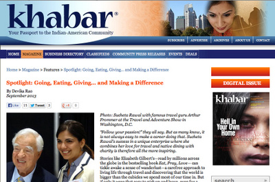 Khabar Magazine September 2013